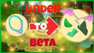 Under to Beta challenge | AJPW video