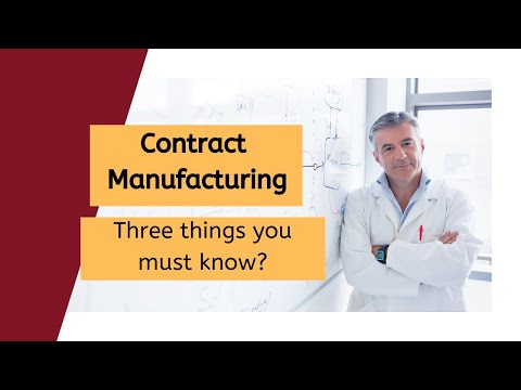 Pharmaceutical Development: Choose the right Contract Manufacturing Organization