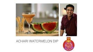 #PartyTohBantiHai Party Hacks: Achari Watarmelon Dip