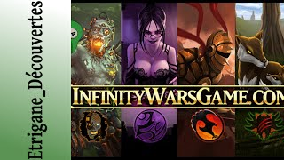 Infinity Wars TCG - Elles sont pas belles mes cartes, hein ?