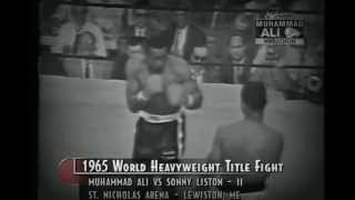 Muhammad Ali vs. Sonny Liston II (1965) [FULL FIGHT]