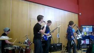 Johnny Be Goode - performed in the canteen by Portsmouth College music tech students