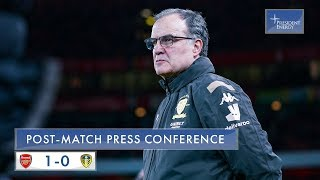 Marcelo Bielsa reaction | Arsenal 1-0 Leeds United | Emirates FA Cup 3rd Round