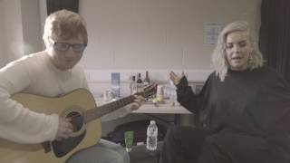 Repeat youtube video Anne-Marie & Ed Sheeran - Ciao Adios [Acoustic]