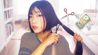 One of NamiiCho's most viewed videos: CHOPPING & SELLING ALL MY HAIR (by myself) ✂