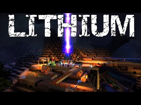 FortressCraft Evolved Let's play episode 7 Lithium