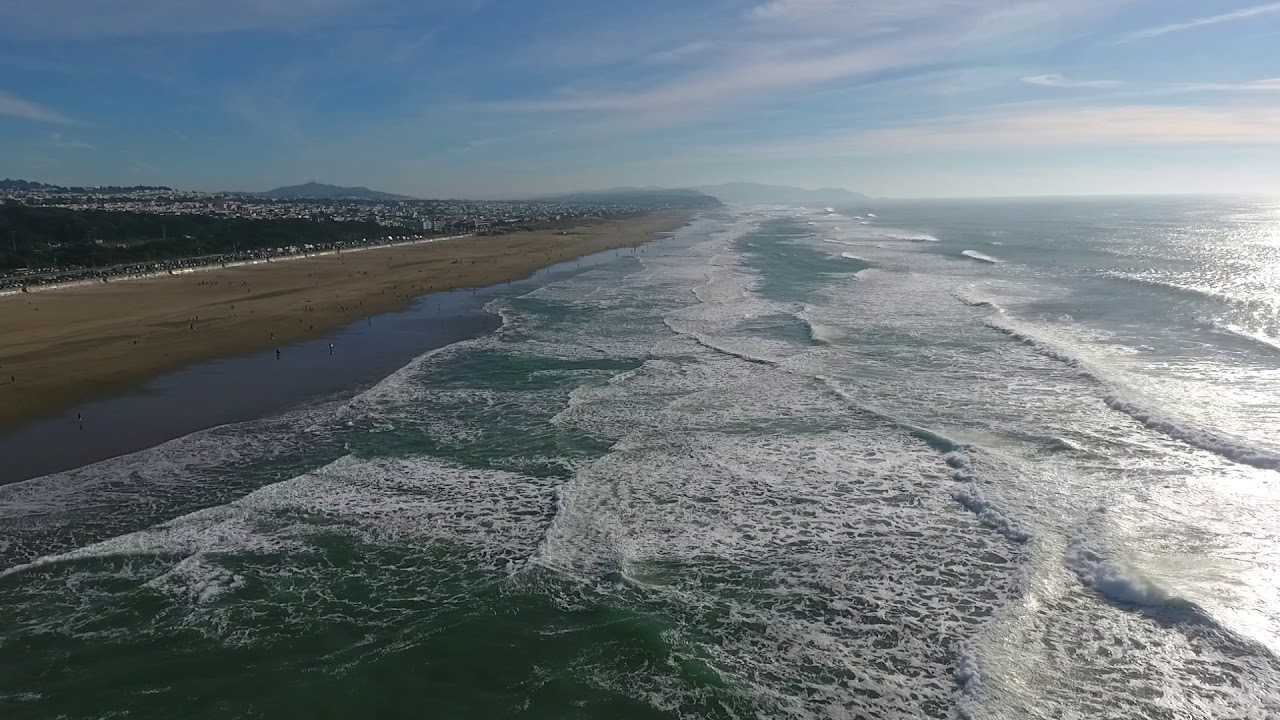 Ocean Beach Fire Pits in San Francisco - YouTube