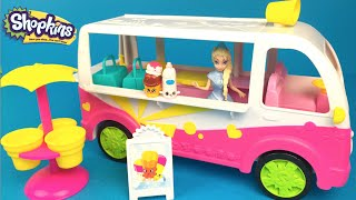 Shopkins Ice Cream Truck - Peppa Pig DISNEY princesses hard to find shopkins collection
