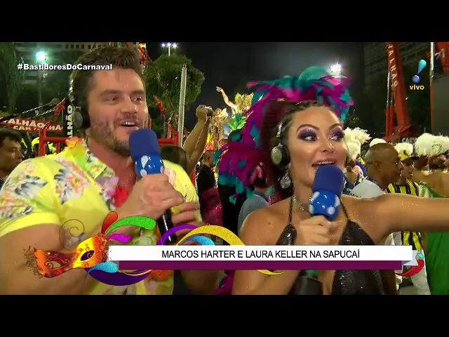 Laura Keller quer saber: Marcos Härter samba tanto quanto beija?