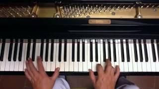 Tutorial piano y voz Garganta con arena ( Cacho Castaño )