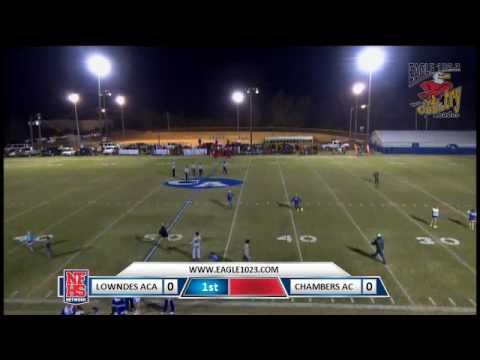 Chambers Academy vs. Lowndes Academy 11/11/16 (W 41-16) Part 1