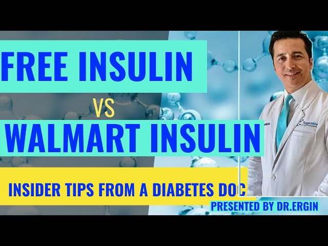 How to get HIGH Quality insulin IF YOU MAKE LESS THAN 68,000/year!