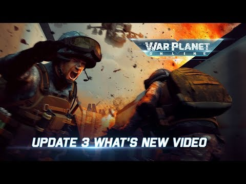 War Planet Online Update 3 what's New video