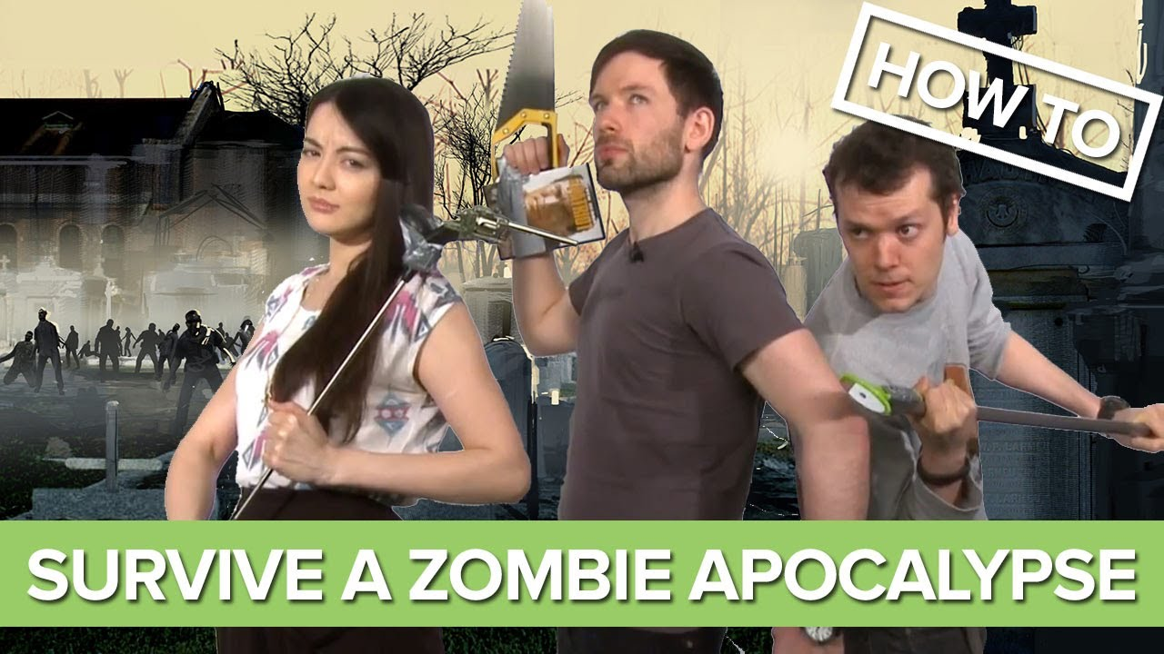 How to Survive a Zombie Apocalypse (According to Videogames)