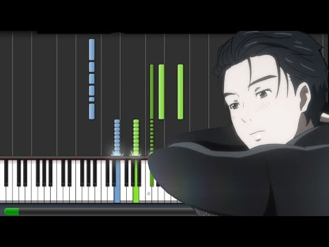 Yuri!!! on ICE [ユーリ!!! on ICE] EP 3 OST - Eros (Piano Synthesia Tutorial + Sheet)