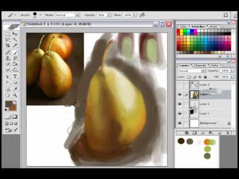 best digital painting tutorial for beginners youtube