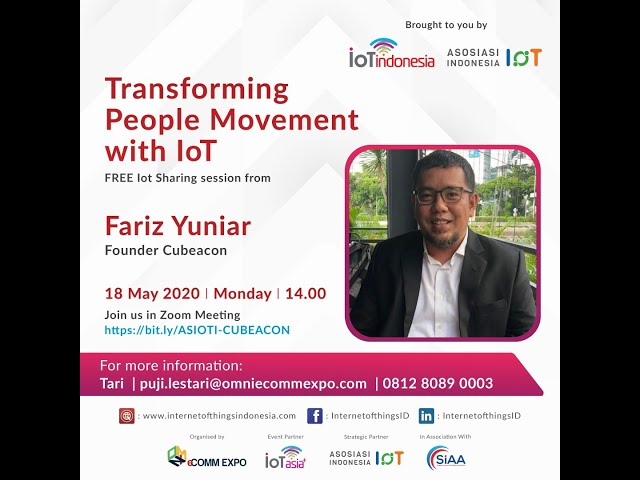 ASIOTI Sharing Session Transforming People Movement with IoT