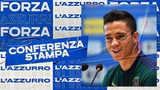 Conferenza stampa di Raspadori (22 giugno 2021) | EURO 2020