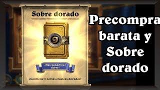 Oferta Precompra Barata y abro el Sobre Dorado