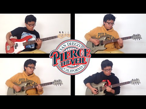 Pierce The Veil - Stained Glass Eyes and Colorful Tears (Instrumental Cover)