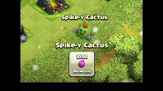 What Happens If You Remove Spike c Cactus New Tree Clash of Clans