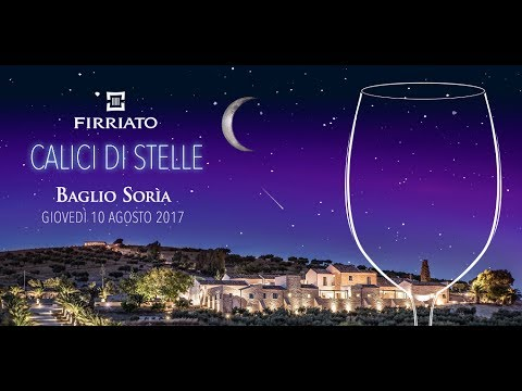 Calici di stelle Firriato 2017