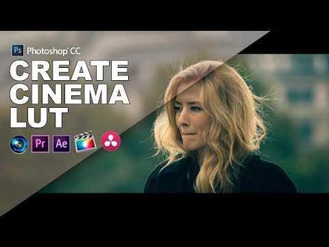 How to Create Cinematic Blockbuster Film Lut in Photoshop - Color Grading Tutorial for Film makers