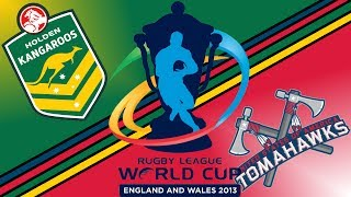 Rugby League Live 2 | World Cup Preview | Australia v United States (QF #2)
