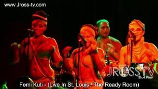 "James Ross @ Femi Kuti - ""Carry On Pushing On"" - www.Jross-tv.com (St. Louis)"