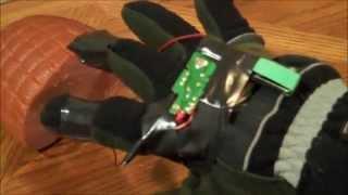 How To Make a 330 V Taser Glove for $10