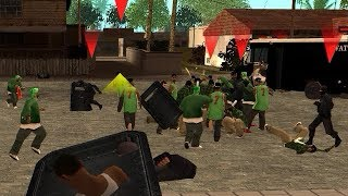 GTA San Andreas - Police vs Grove
