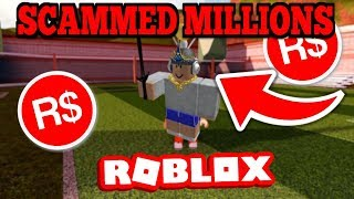 Roblox Staff Helped This Scammer..