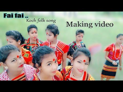 Koch folk song making video