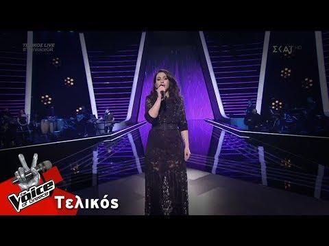 Λεμονιά Μπέζα - Πάμε μια βόλτα στο φεγγάρι   Τελικός   The Voice of Greece