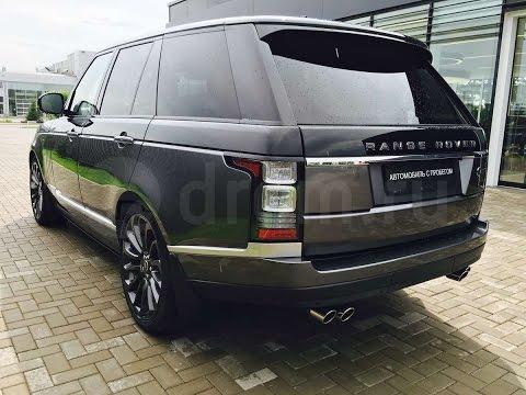 Академик выхватил новый Land Rover Range Rover