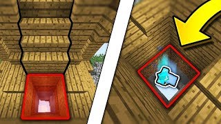 ANOTHER FAKE STAIRCASE TRAP! (Minecraft Skywars)
