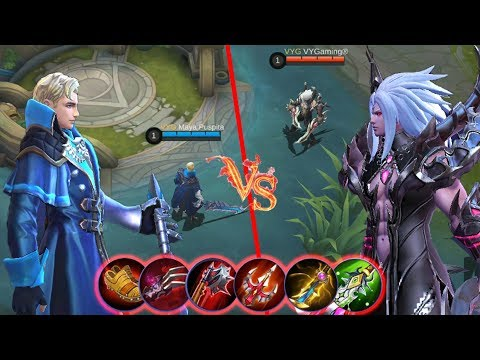 MARTIS VS ALUCARD FULL LIFESTEAL ITEMS - Who Will Win This Epic Battle ? (Mobile Legends)