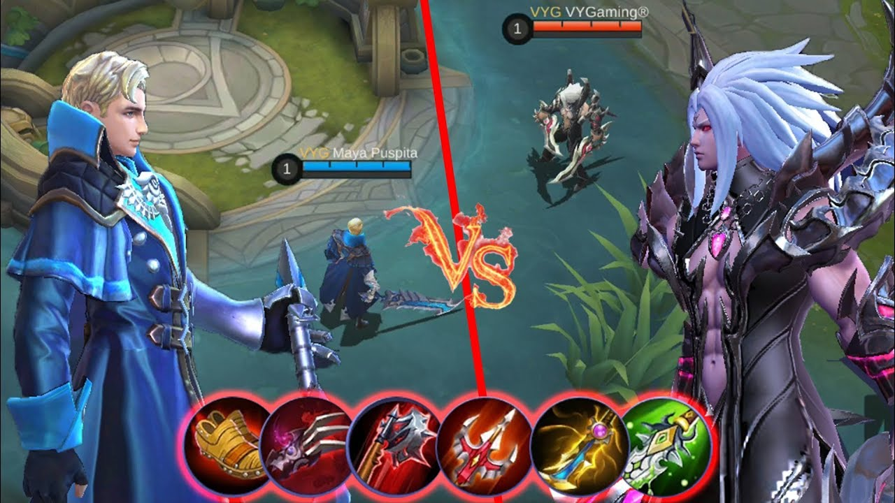 Martis Vs Alucard Full Lifesteal Items Who Will Win This Epic Battle Mobile Legends