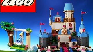 Disney Princess Cinderella Castle Lego Blocks - Romantic Castle 41055