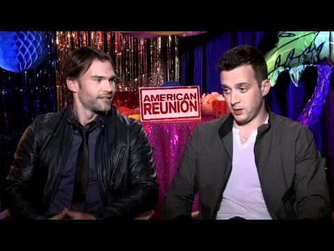 American Reunion Interviews with Sean William Scott and Eddie Kaye