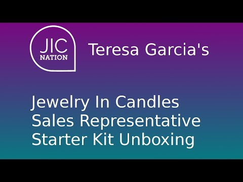 JIC (Jewelry in Candles) Starter Rep Kit Unboxing