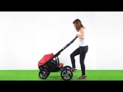 Видео обзор  универсальной коляски Broco Infinity 2 в 1