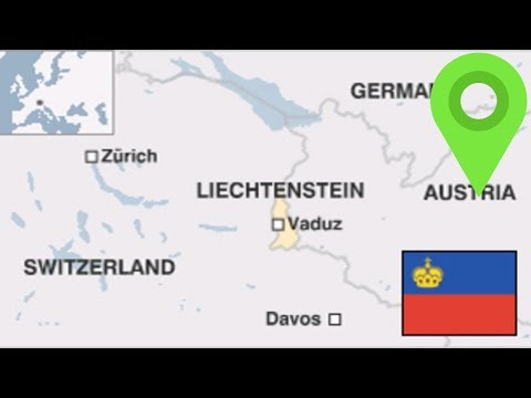 Liechtenstein Borders & How A Country So Small EVEN EXISTS?