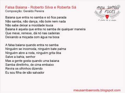 Falsa Baiana - Roberto Silva e Roberta Sá