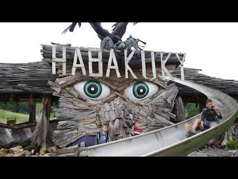 🎢 Habakuky a veľa srandy na letnej bobovej dráhe Donovaly,  Slovensko 😃OKOLO SVETA so 4 deťmi [HD]