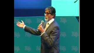 "Amitabh Bachchan reciting ""Madhushala"" in indore"