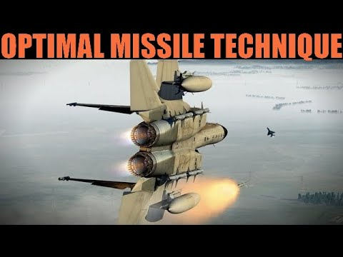 F-15C Eagle: Best & Optimal BVR Missle Fight Technique | DCS
