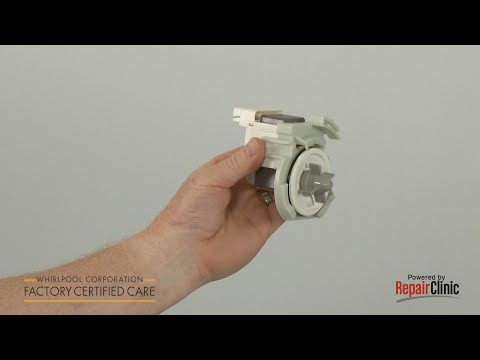 Drain Pump - Whirlpool Dishwasher #WDF510PAYS6