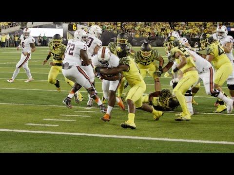 FOOTBALL: Oregon - Highlights