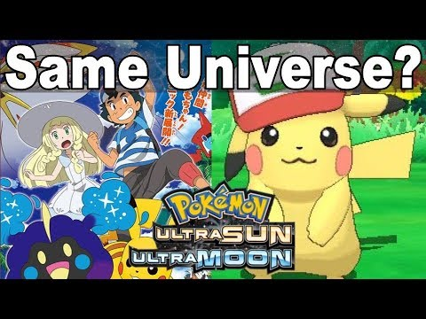 Ultra Sun And Moon Anime Are The Same Universe LOST VIDEO